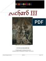 Richard III- Study Guide