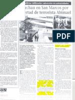Sendero en San Marcos - Recortes Periodísticos