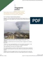Shell Refinery Fire