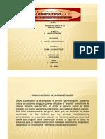 Origen de La Admin is Trac Ion Presentacion