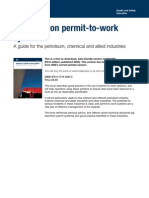 HSG 250_Guidance on Permit to Work Systems