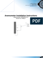 Anemometer Installation Instructions Rev03updated05!19!2011