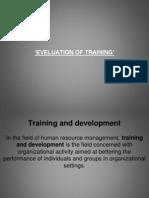 36814752 Training Evaluation Ppt