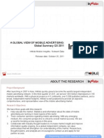 Q3 2011 - InMobi Network Research Global
