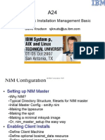 AIX NIM Basic 2007 Cympac Software Pune