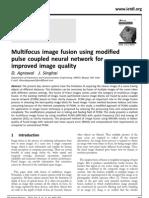 Multi Focus Image Fusion Using Modified