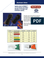 Electricians Gloves Brochure