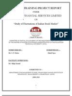 summertrainingprojectreportonfluctuationofindianstockmarketprabathfinancialserviceslimited-100704130842-phpapp01
