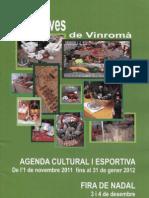 Agenda Cultural i Esportiva 2011