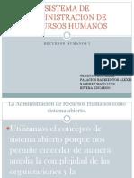 Sistema de Admin is Trac Ion de Recursos Humanos