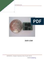 姿态方位系统模块NAVI-1500中文规格说明