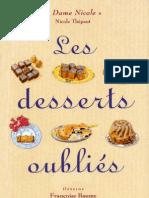 Les Desserts Oubliés