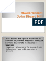 Utilitarianism and JS Mill