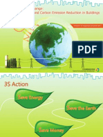 Combating Climate Change:Energy Saving and Carbon Emission Reduction in Buildings