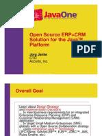 ERP Open Source Compiere Demo CRM