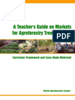 A Teacher_s Guide on Markets for Agroforestry Tree Products