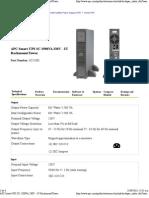 APC Smart-UPS SC 1500VA 230V - 2U Rackmount_Tower