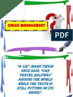 Chapter 19 - Crisis Management