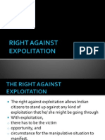Right Against Exploitation