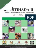 Jitihada II Business Plan Competition _ Brochure 2011
