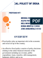 Fiscal Policy Efb