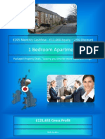 1 Bed Apartment with £205 Cashflow