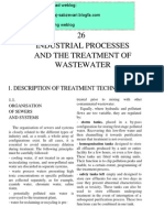 26.1. Industrial Processes and the Treatment of Waste Water - Description of Treatment Techniques