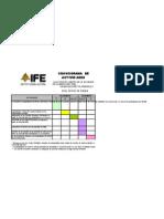 Formato de Cronograma de ElecciÓn de Bachilleres