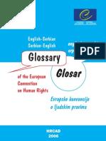 English-Serbian & Serbian-English Glossary