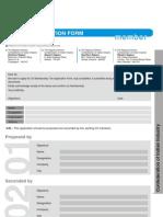 CII Member Form