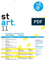 stART11 - Die Kunst des digitalen Erzählens (Programm, Legende, Events)