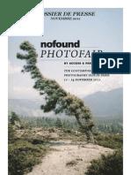 Nofound Photofair 2011 - Dossier de Presse