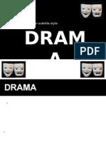 Drama Lecture