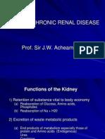 Acute & Chronic Renal Failure