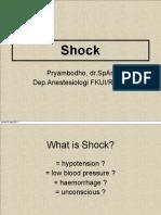 Shock Anestesia