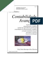 APOSTILA DE CONTABILIDADE AVANÇADA