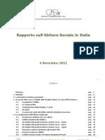 Romeo Gestioni Rapporto Abitare Sociale