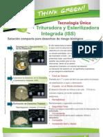 Trituradora y Esterilizadora para Desechos Hospitalarios-ISSAC-575- Catálogo- Rev 1- Abr-11