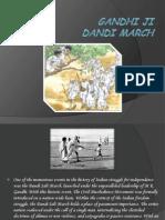 Gandhi Ji Dandi March12