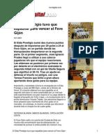Cronica Elda Gijon Vivirdigital Com 9 11 2011
