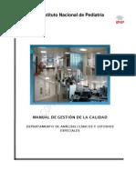 Manual de Calidad Inst Nac Pediatría México