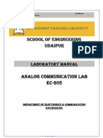 27277034 Communication Systems Lab Manual