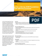 B00030 Foundations of SAP ERP Procurement