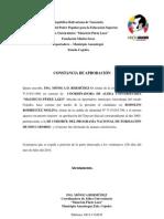 CONSTANCIA DE APROBACIÓN