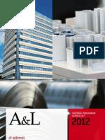 A&L 2012 editorial programme