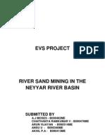 Sand Mining Project