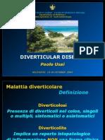 malattia diverticolare (selinunte 2004)