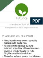 Futurice Presentation Sanuk