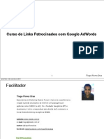 Aula Sobre Links Patrocinados(Google Adwords) - Lição 1