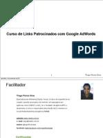 Aula Sobre Links Patrocinados(Google Adwords) - Lição 2